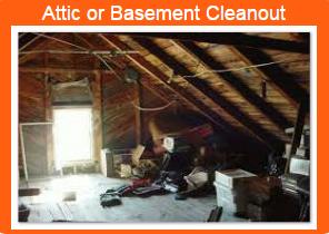 Basement cleanout, garaage cleanout, rent a dumpster WI