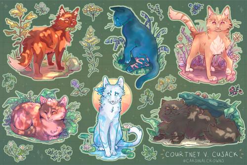 Medicine Cat Sticker Sheet