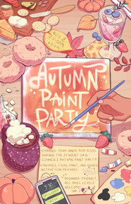 Paint Party Poster