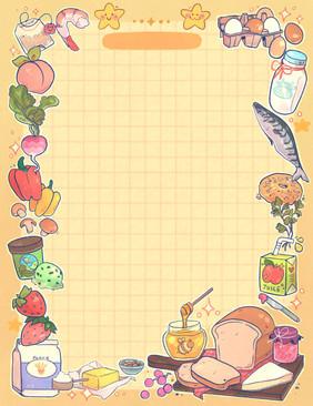 Grocery List Memo Pad