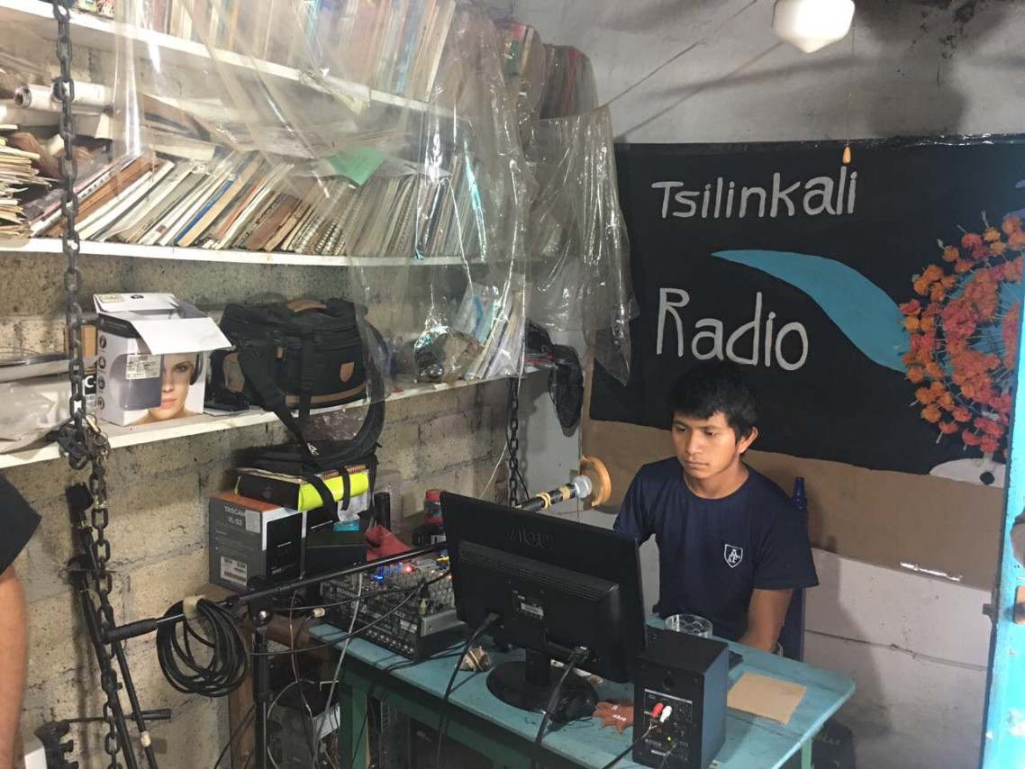 Radio Tsilinkalli y  Centro CulturalYankuik Kuikamatilistli