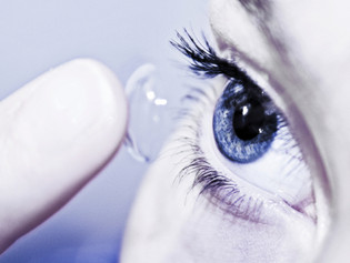Eye loss contact lens stories