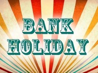 Bank Holiday Closing Times