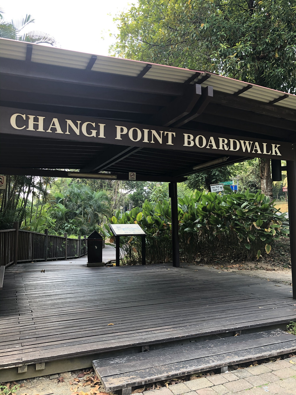 Changi Point Boardwalk