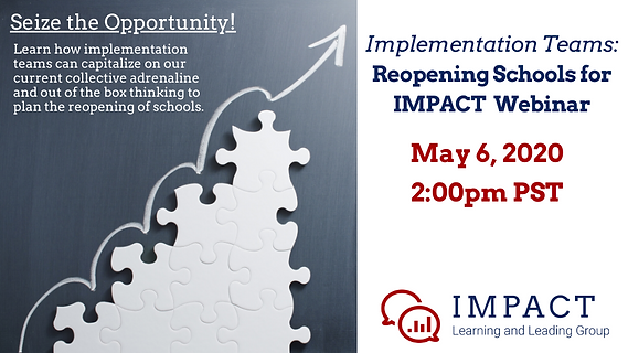 Implementation Teams: Reopening Schools for IMPACT