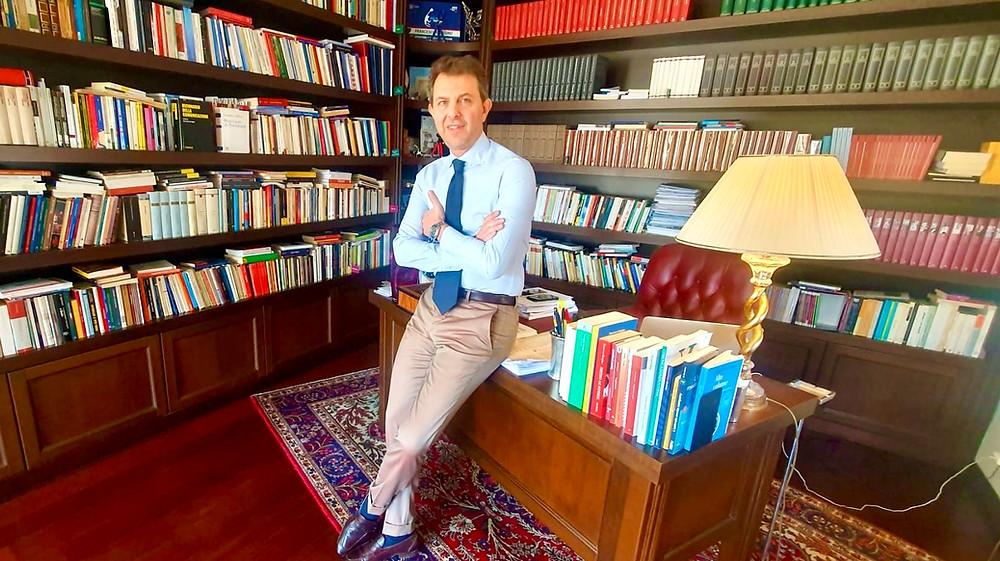 il giornalista e docente universitario Francesco Giorgino