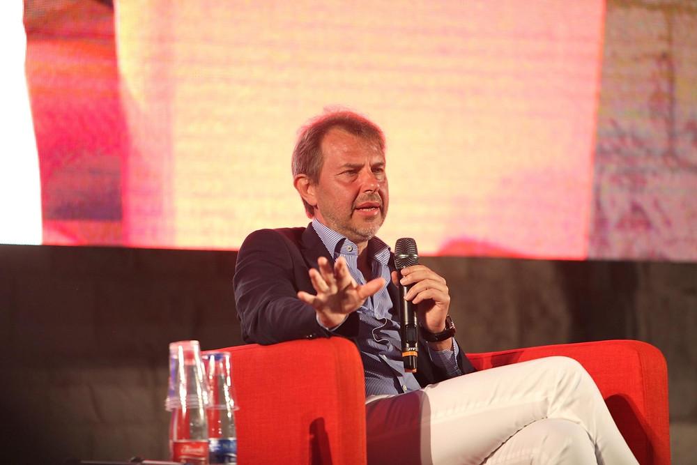 Giornalista e docente Francesco Giorgino