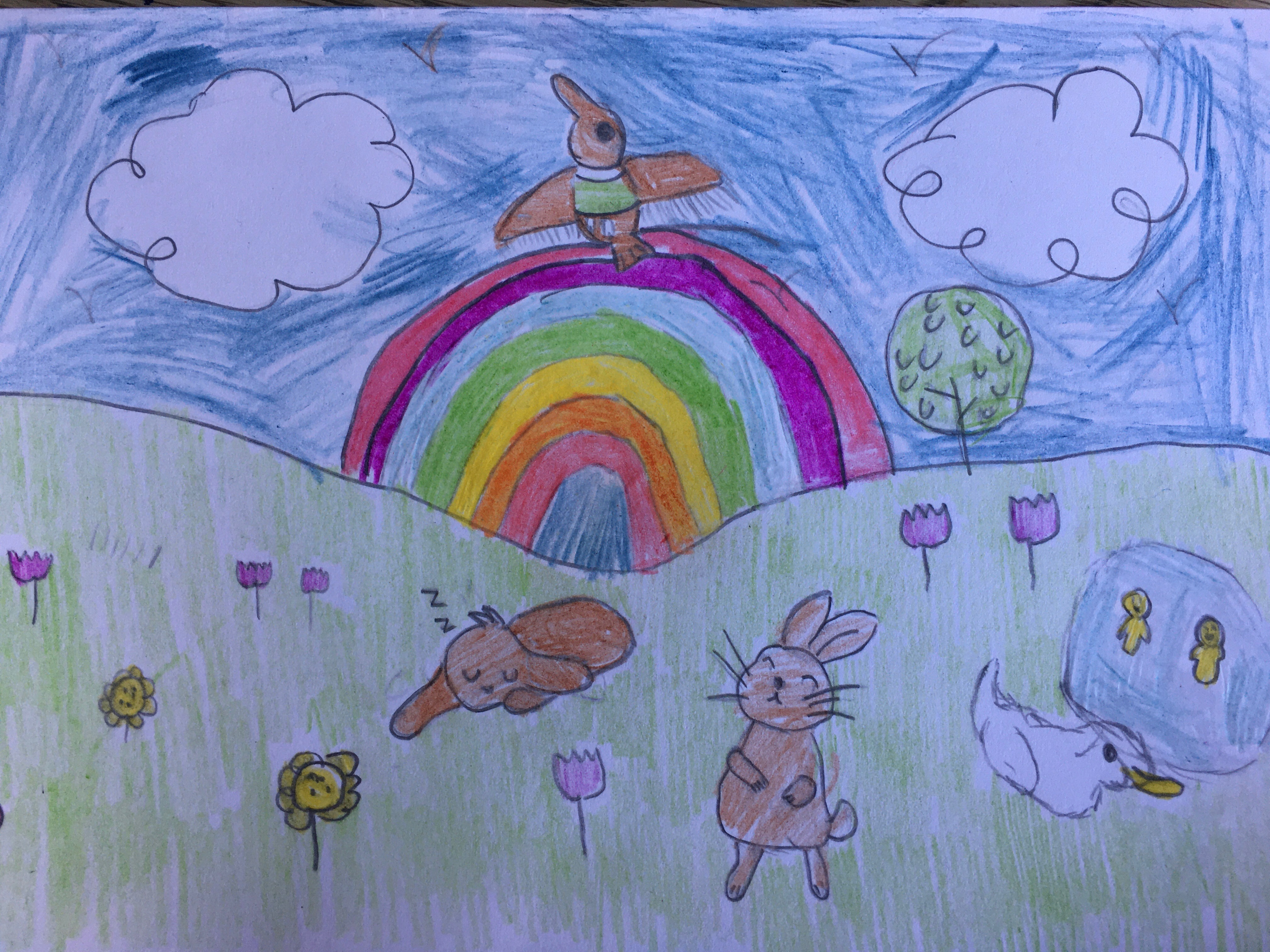 Jager's Easter scene