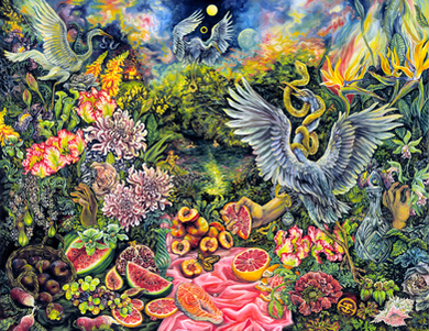 Lilith's paradise with offerings of celebration & harmony