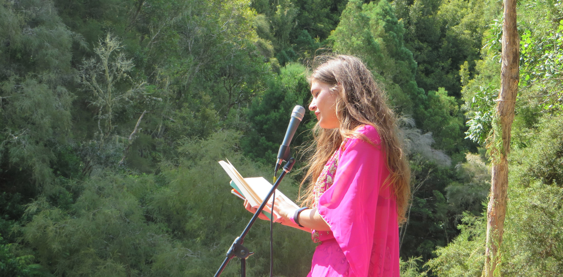 Reading at Welcome to Nowhere festival 2020