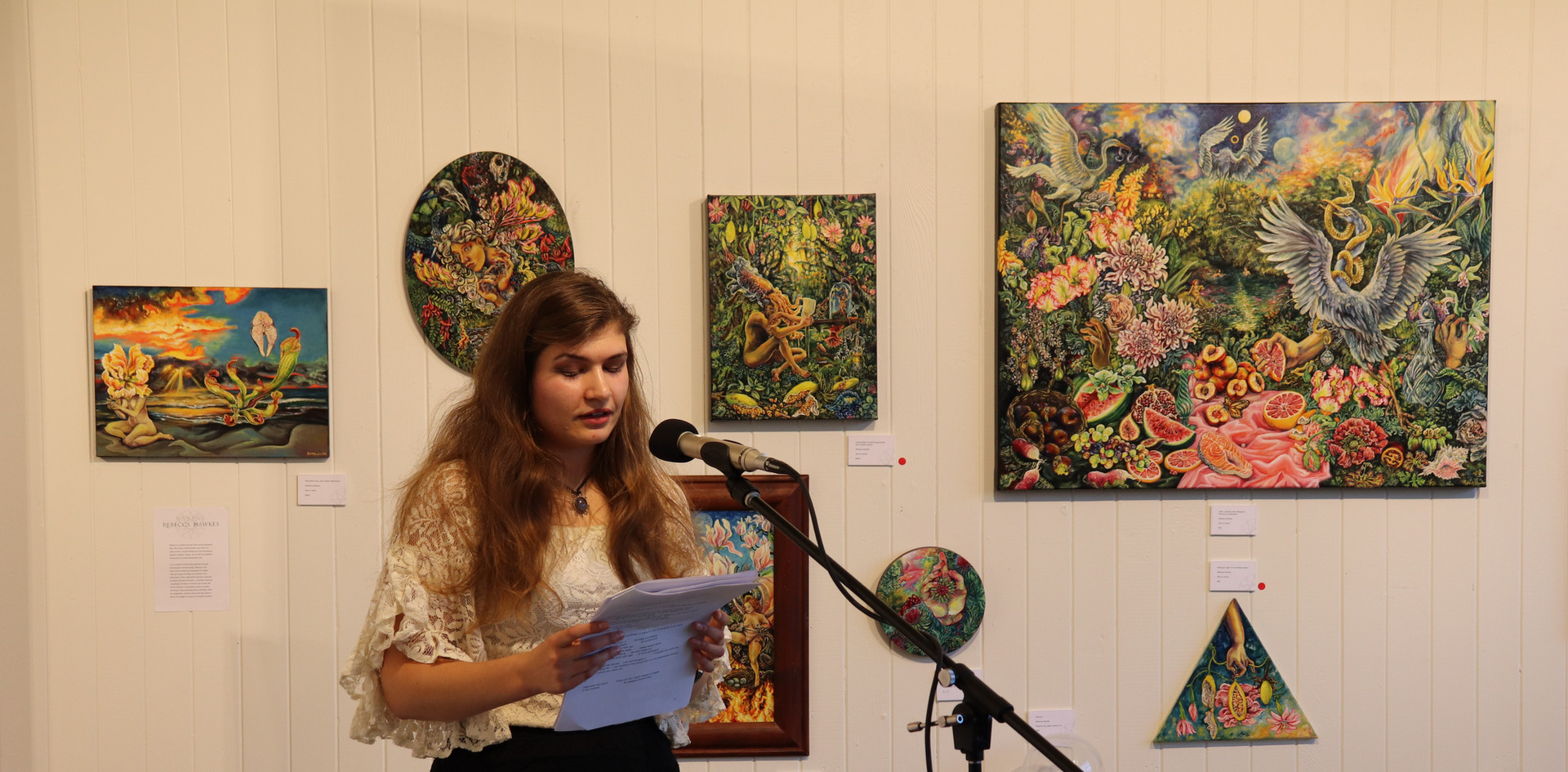 Reading at Potocki Paterson Gallery