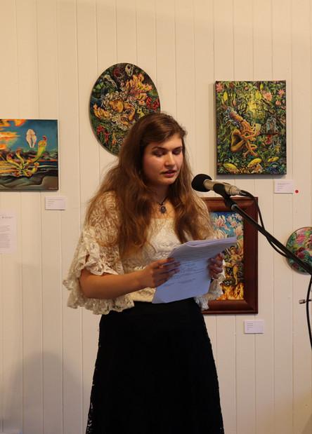 Reading at Potocki Paterson Gallery