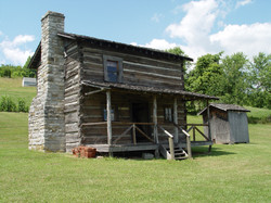 Dickenson Bundy Log House 2