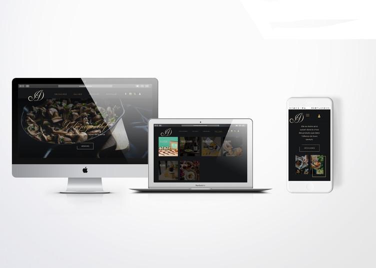 VOTRE PROPRE CHEF - WEBSITE UX/UI DESIGN