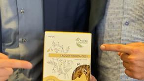 Il primo bollino verde AINC è per la pasta di legumi dell'azienda Monte Monaco