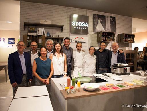 Successo per lo show-cooking della salute alla Teng Arredamenti
