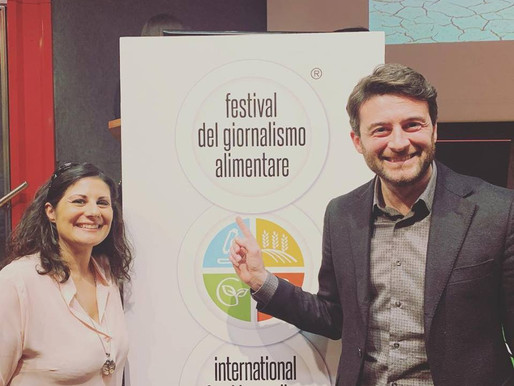 Anche l'AINC al Festival del Giornalismo alimentare di Torino