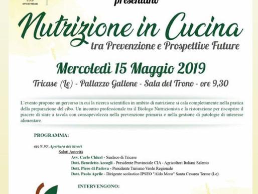 """""""Nutrizione in cucina: tra prevenzione e prospettive future"""""""