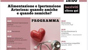 Alimentazione e Ipertensione Arteriosa: quando amiche e quando nemiche?
