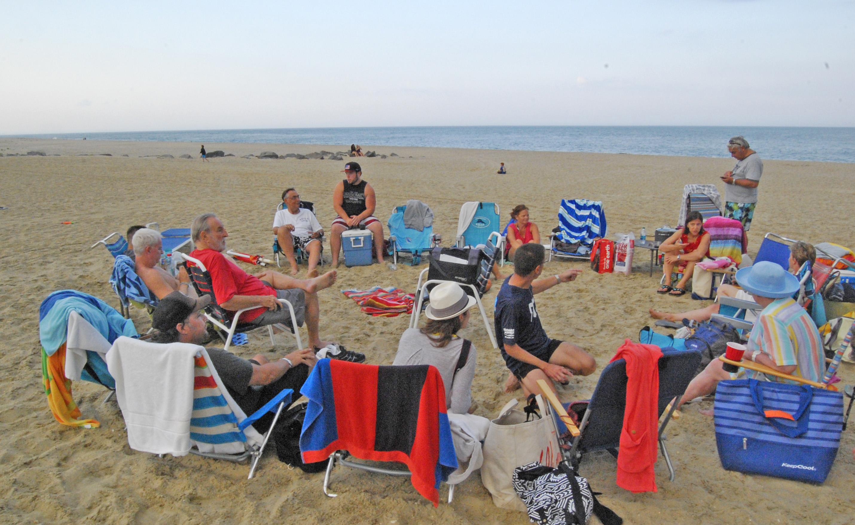 Beach circle