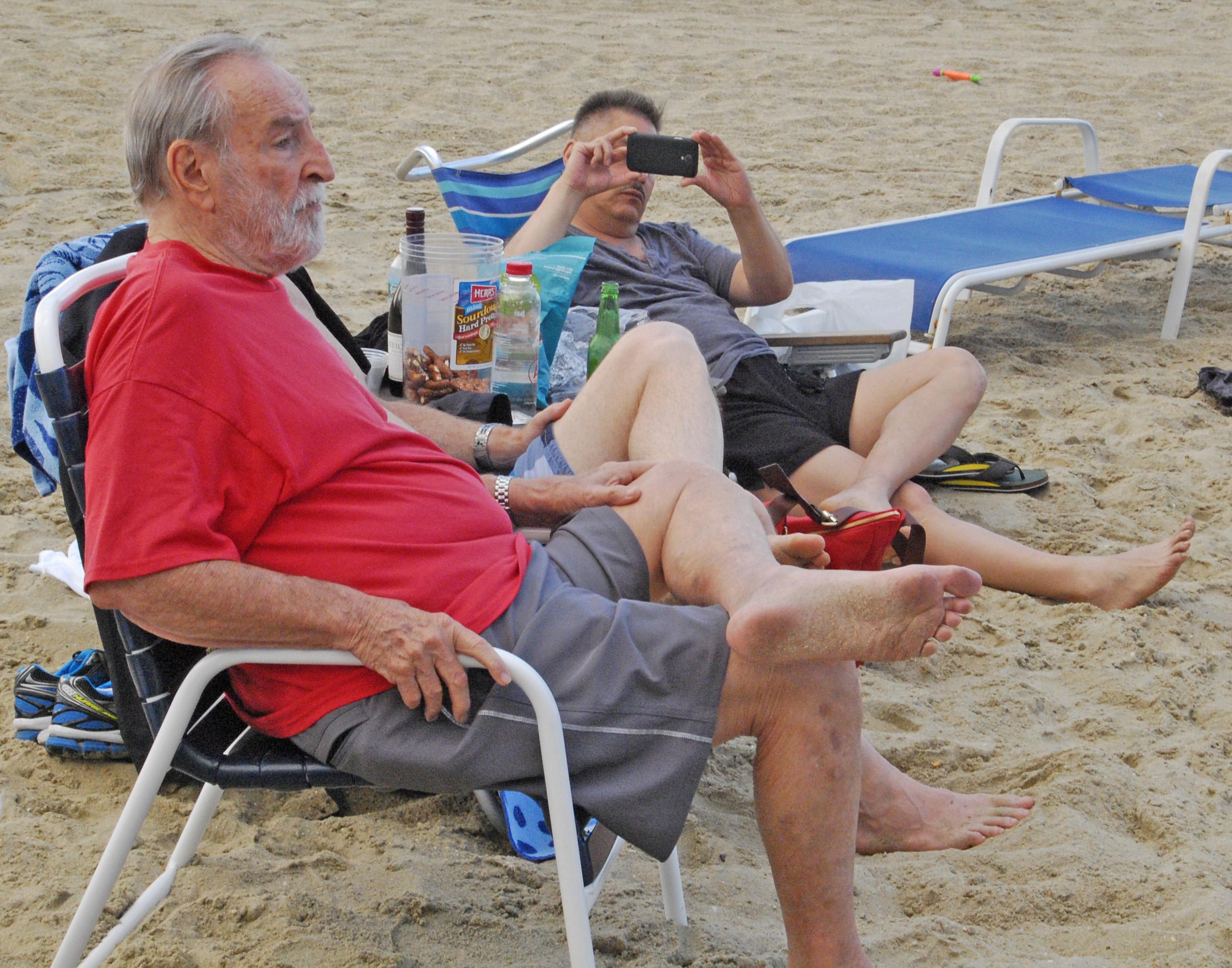 Dad, TJ beach