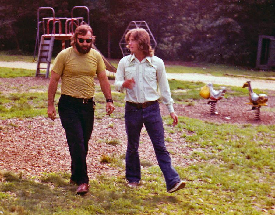 Dad, Larry- Greenbelt Park 8-19-72