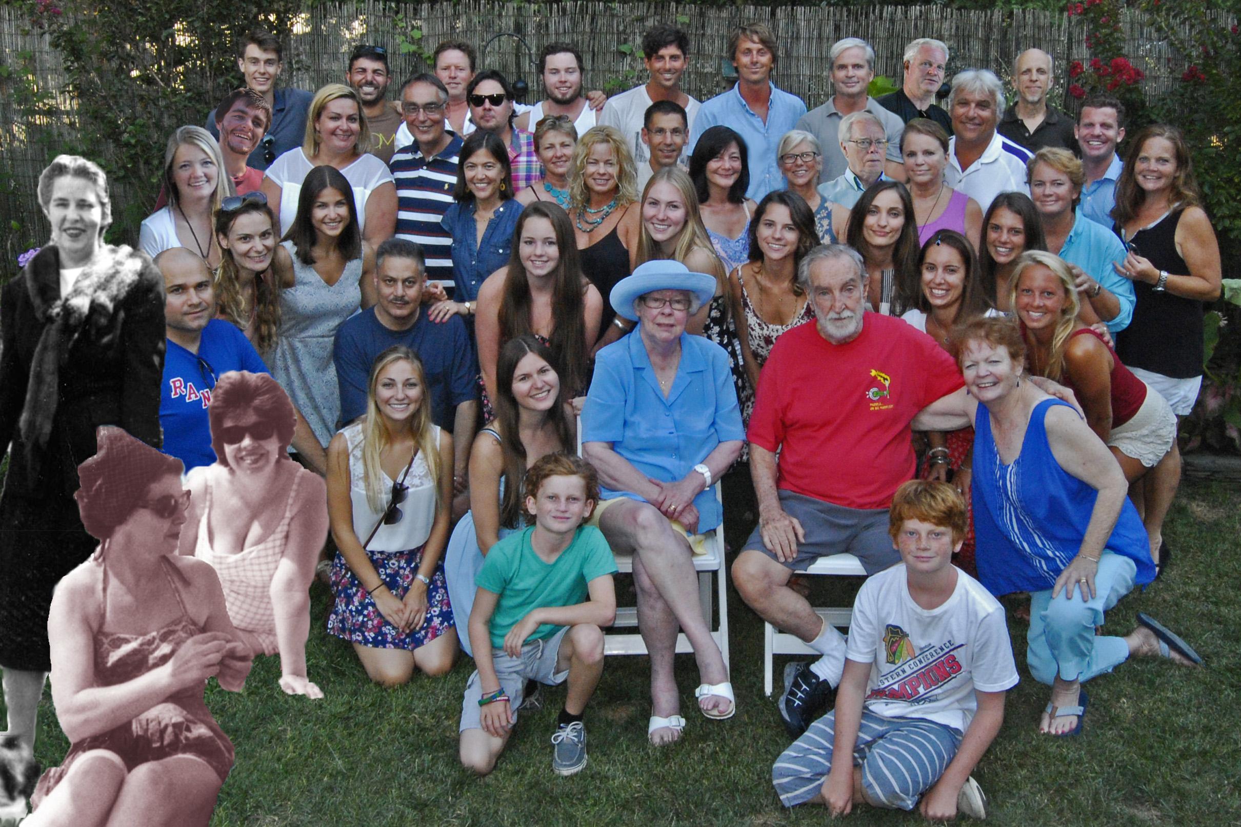 Full group, add BJ, Chloe, Gavin, Tom, Spirits