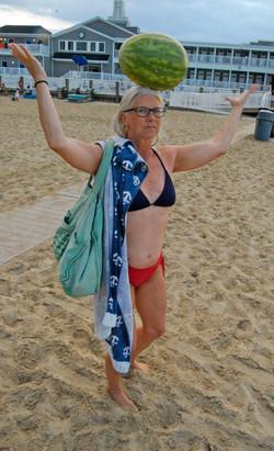 Cindy, watermelon beach