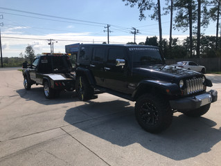 East Coast Motorsport in St. Mary's Georgia called me to pick up a 2008 Jeep Wrangler Unlimited