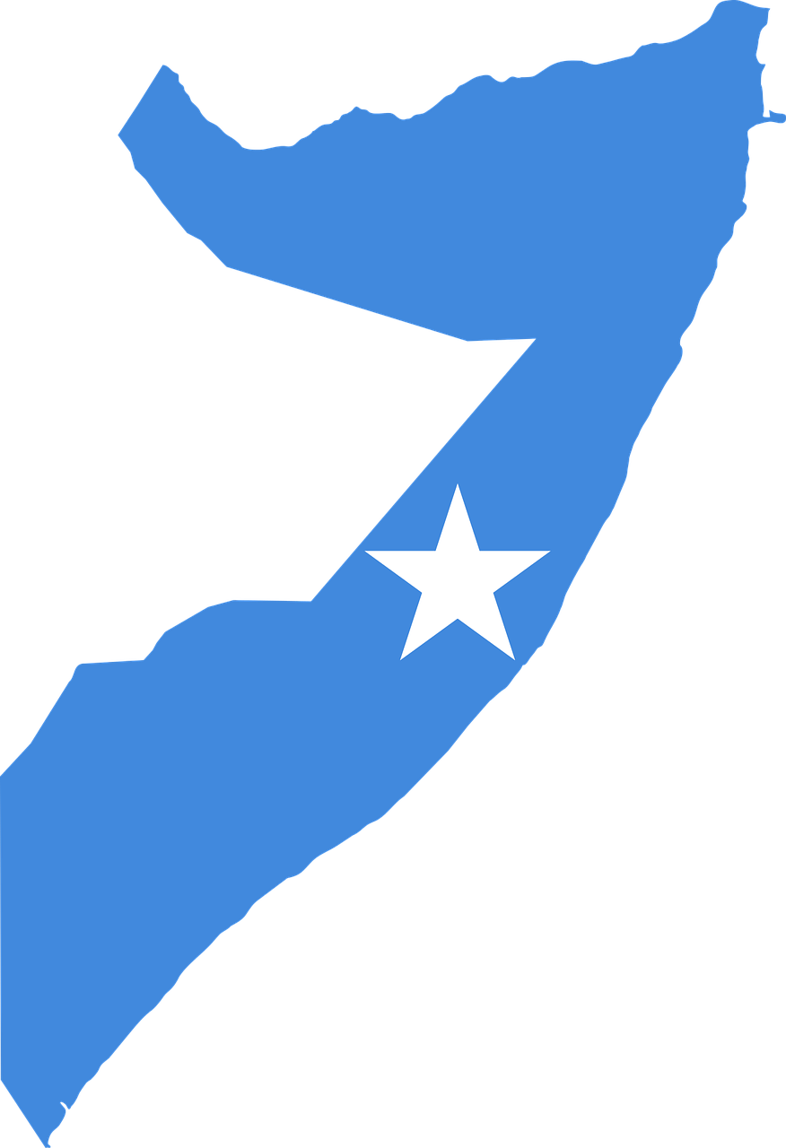 Somalia Map and regions
