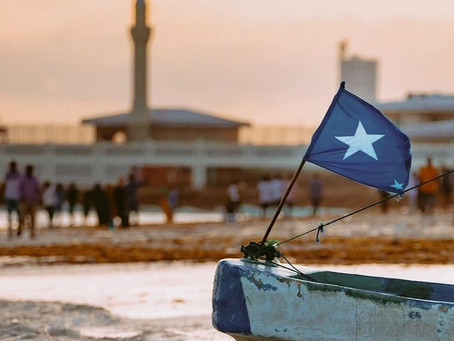 Why is there a star on the Somali flag? Somalia Flag Photos, History and Somalia Flag Song - Somger