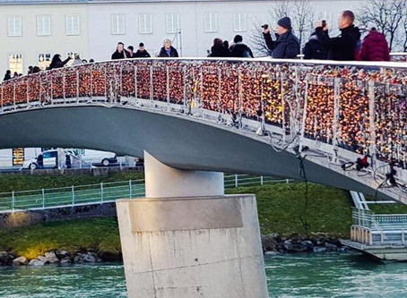 Love Lock Bridge, Salzbug - Austria