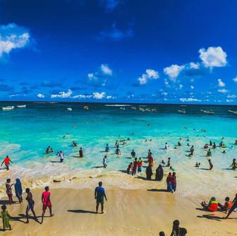 Mogadishu Beach - Liido Beach - Somalia Beaches - Xeebta Liido