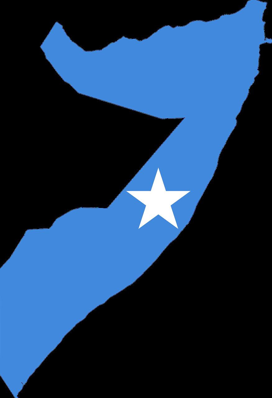 Somalia Map, Somalia Flag, Somalia country.
