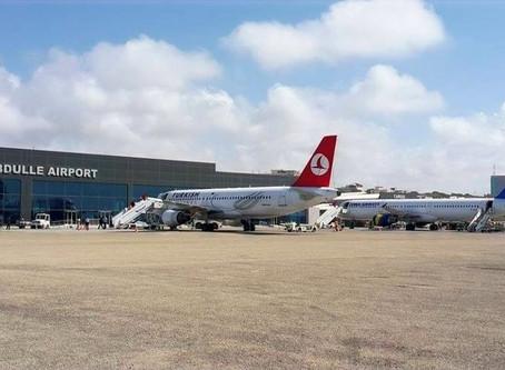 Mogadishu Airport - Somalia - Somger