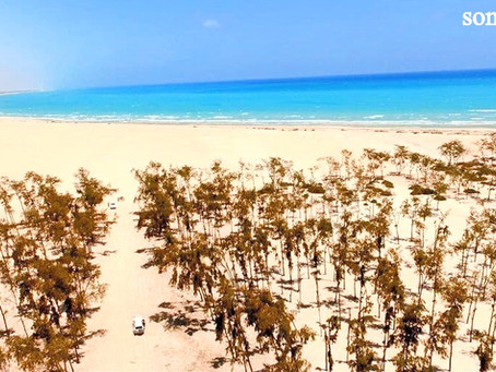 Somalia Beaches and Mountains - Adale Beach Somalia - Sheikh Mountains Somalia - Somger