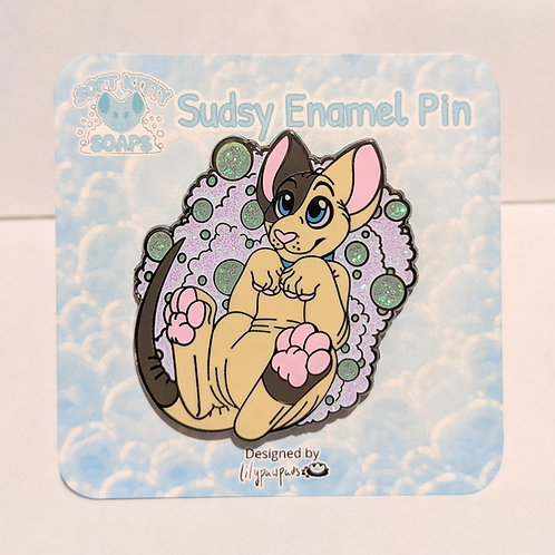 Soft Kitty Soaps Pin