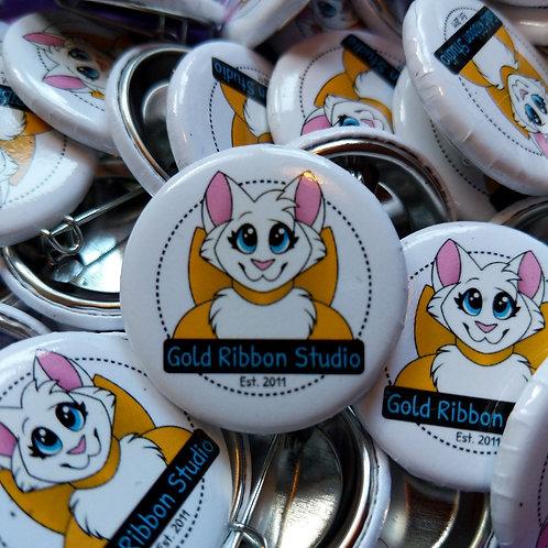 Gold Ribbon Studio Logo Button
