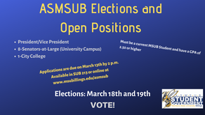Club of the Week Special edition: ASMSUB Student Senate