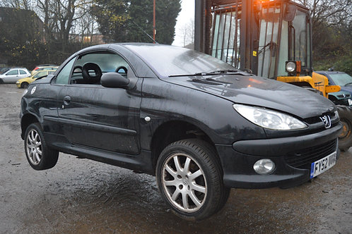 2002 Peugeot 206 CC Breaking/Parts