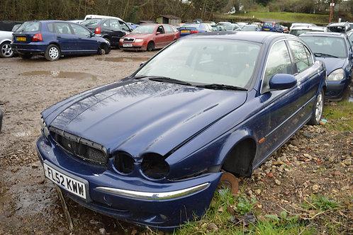 2002 Jaguar X Type for Breaking/Parts