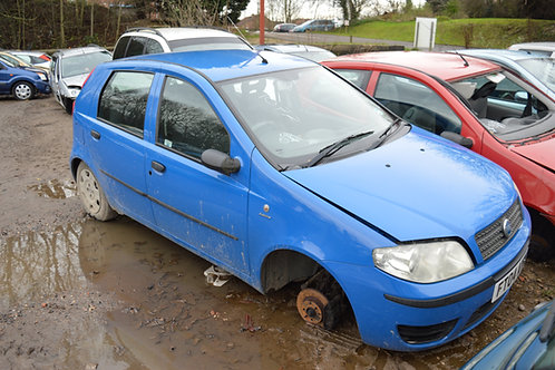 2004 Fiat Punto for Breaking/Parts