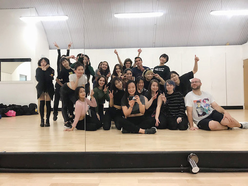 "Love K-Pop Dance London: Class of ""Sunmi: Siren""."