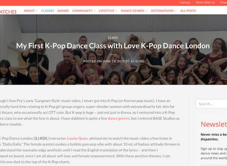 "Dance Dispatches Review: ""My First K-Pop Dance Class with Love K-Pop Dance London"""