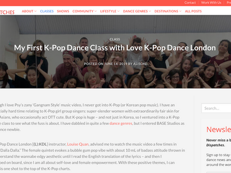"Dance Dispatches Review: ""My First K-Pop Dance Class with Love K-Pop Dance London"""