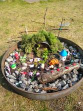Joshua's Easter Garden