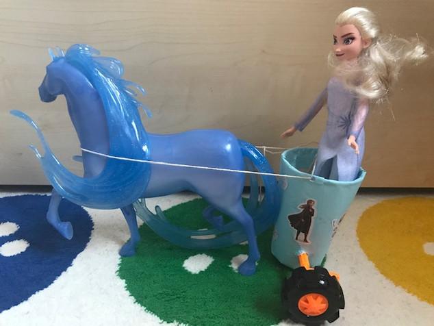 Albert's chariot