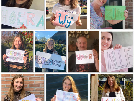 Promotie voor Dames 1!