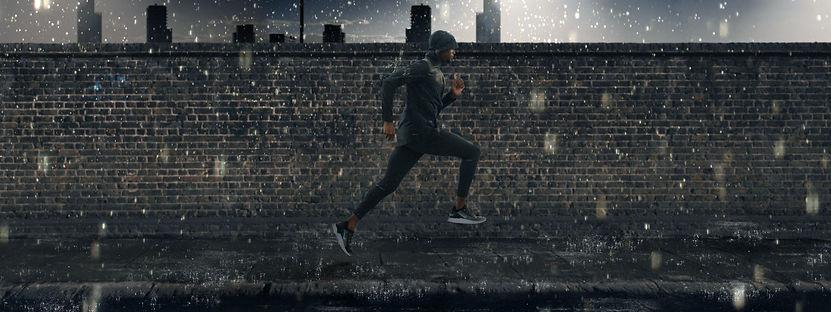 Nike SP Run: Rain