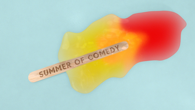 Summer of Comedy Branding